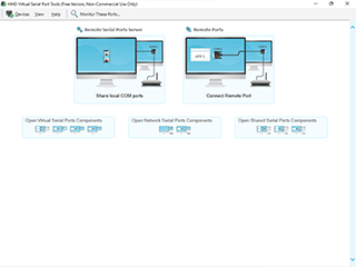 Free Remote Serial Ports Screenshot